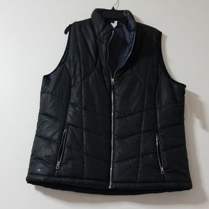 NWT ideology puffer vest